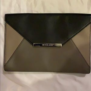 Michael Kors Tri-color smooth leather clutch